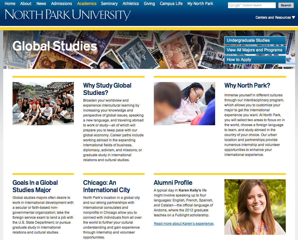 North Park University Global Studies