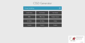 css3 generator site