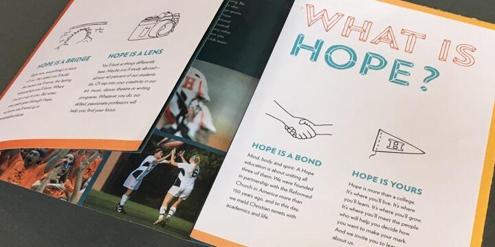 Hope-Mockup brochure
