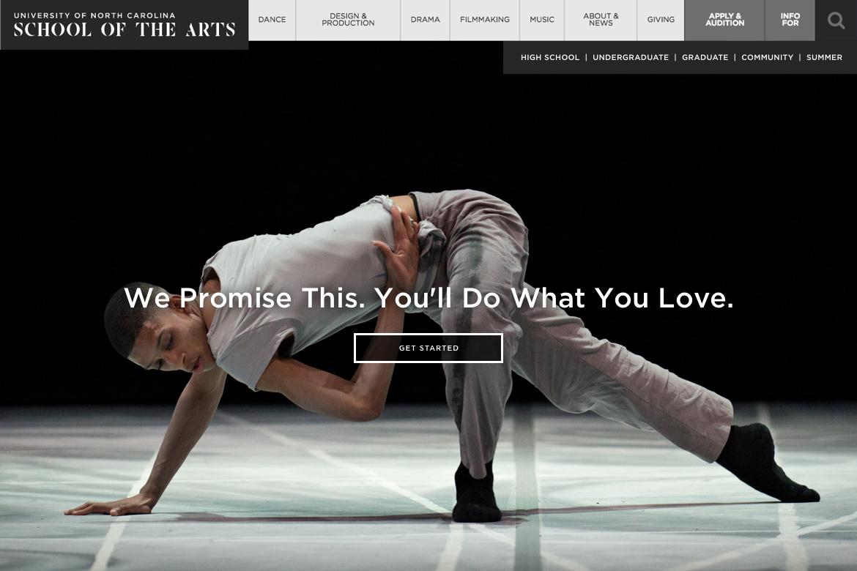 uncsa homepage image