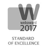 WEB AWARD 17 Excellence