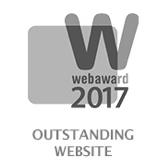 WEB AWARD 17 Outstanding
