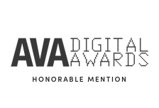 ava digital honorable mention award