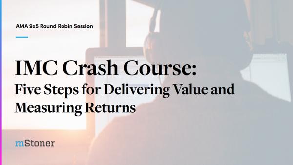 IMC Crash Course title slide