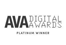 ava digital platinum award graphic
