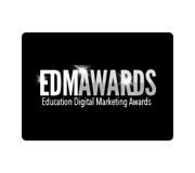 edm award logo black and white
