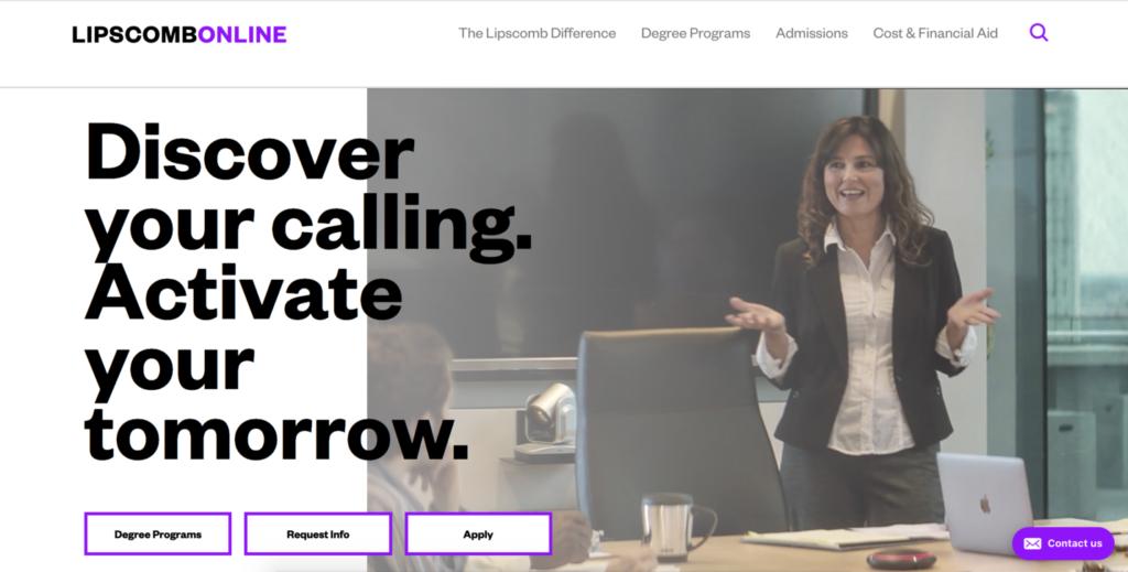 lipscomb online homepage