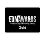 EDM award graphic gold