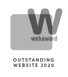 2020 Web Award Outstanding Website