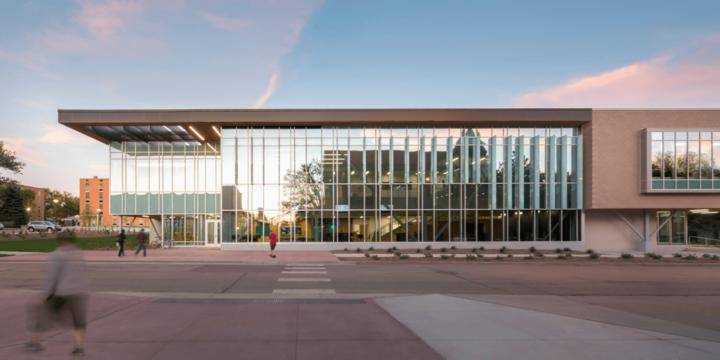 DSU campus building
