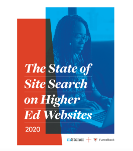 the state of site search on higher ed websites cover illustratio