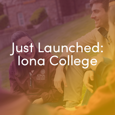 Just launched: Iona College website