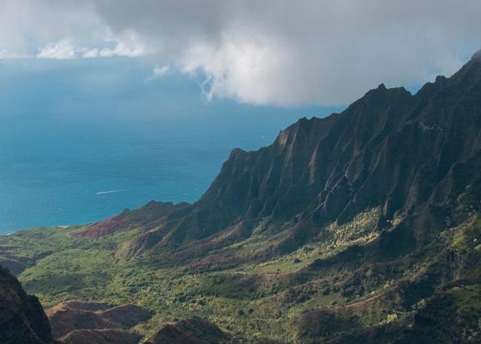 landscape view of kauai, hawaii