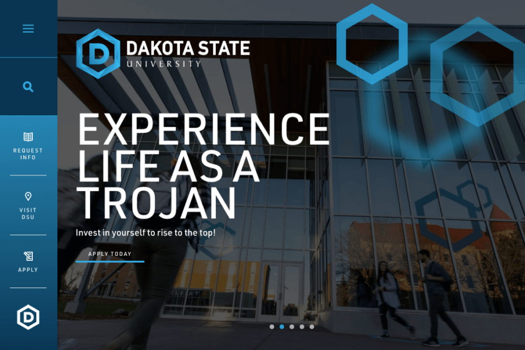 Dakota State University homepage