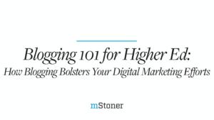 Blogging 101 for Higher Ed