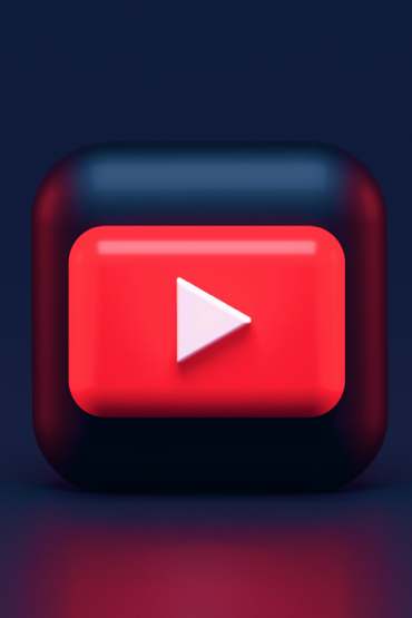 red YouTube play button