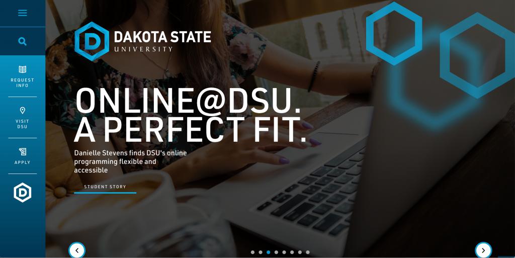 Dakota State University hompeage