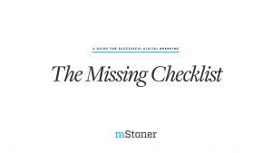 The Missing Checklist guide cover